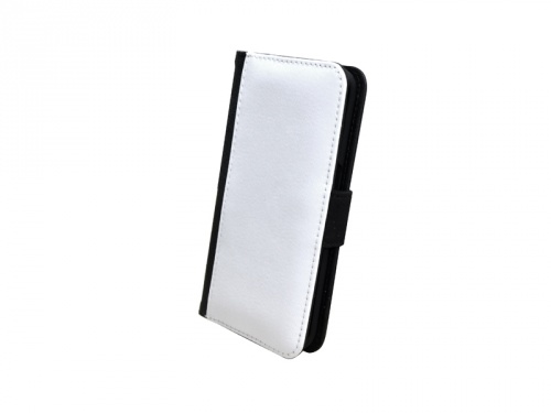 CUSTODIA IN PELLE PER SAMSUNG S6 EDGE CON PATTINA IN POLIESTERE PERSONALIZZABILE