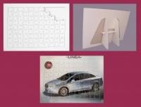 PUZZLE SUBLIMATICO FORMATO A4-STAND DI APPOGGIO POSIZIONE VERTICALE
