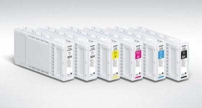 Tanica inchiostro a pigmenti GIALLO EPSON ml 600 UltraChrome DG-Direct to Garment